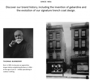 Burberry legacy