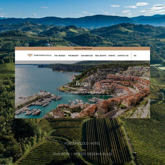 Portopiccolo Our Work Website & Design