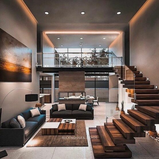 A luxury apartment