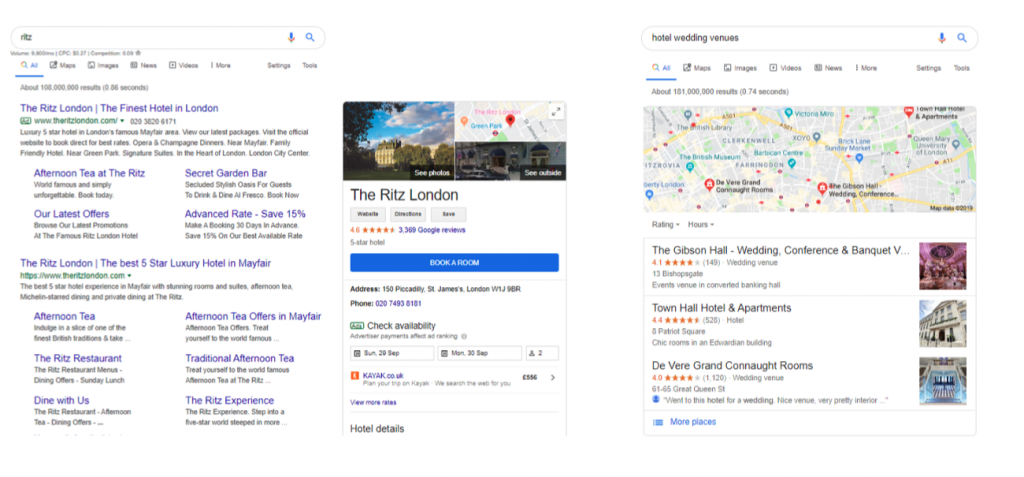 Local SEO strategies for luxury brands
