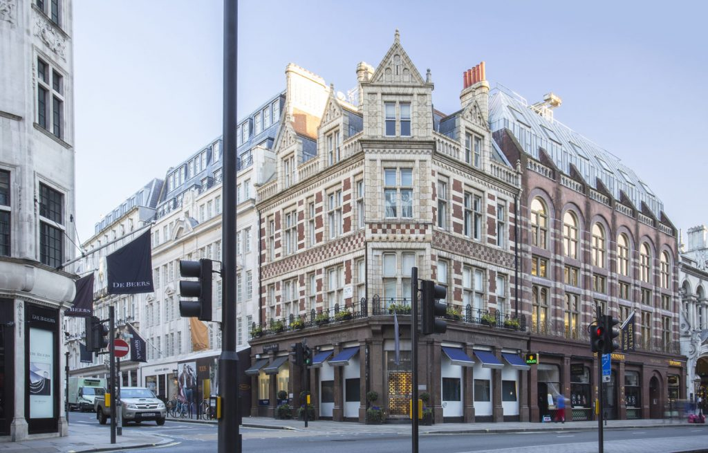 Bond Street in London, reopening brand strategy post COVID