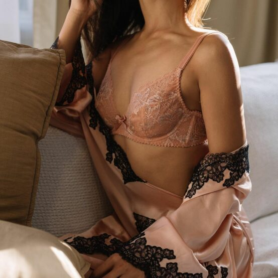 Lady in Agent Provocateur underwear